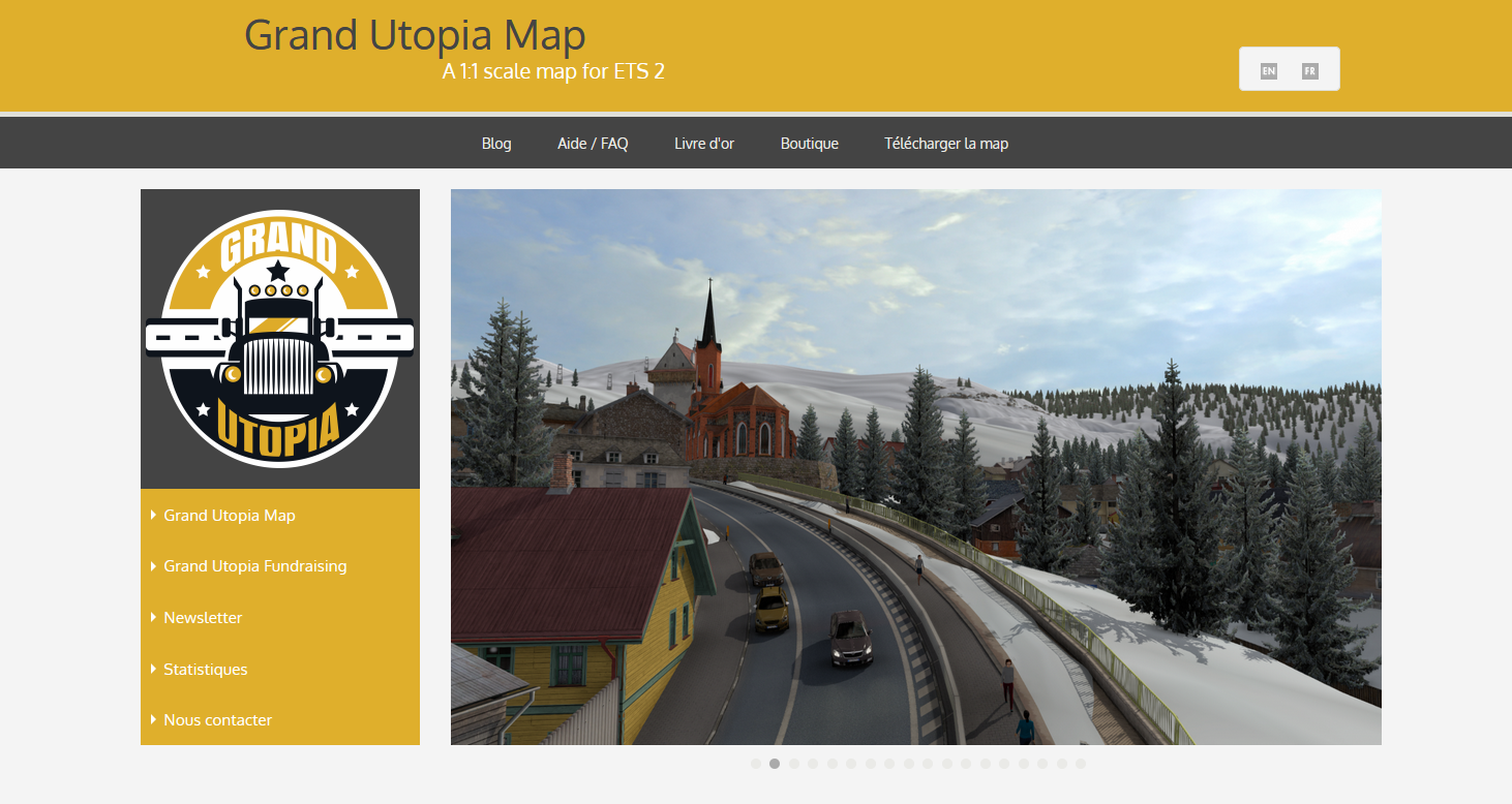 Grand Utopia New Website